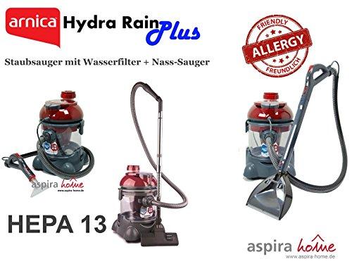 Platz 9: Der Hydra Rain Plus Staubsauger mit Wasserfilter