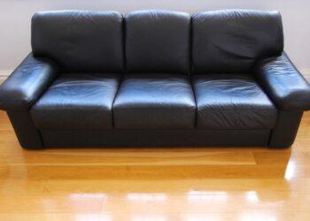 Sofa mit Wildleder / Kunstleder reinigen | Polster von Couch pflegen